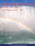 PRE ORDER Mathematics Analysis & Approaches HL