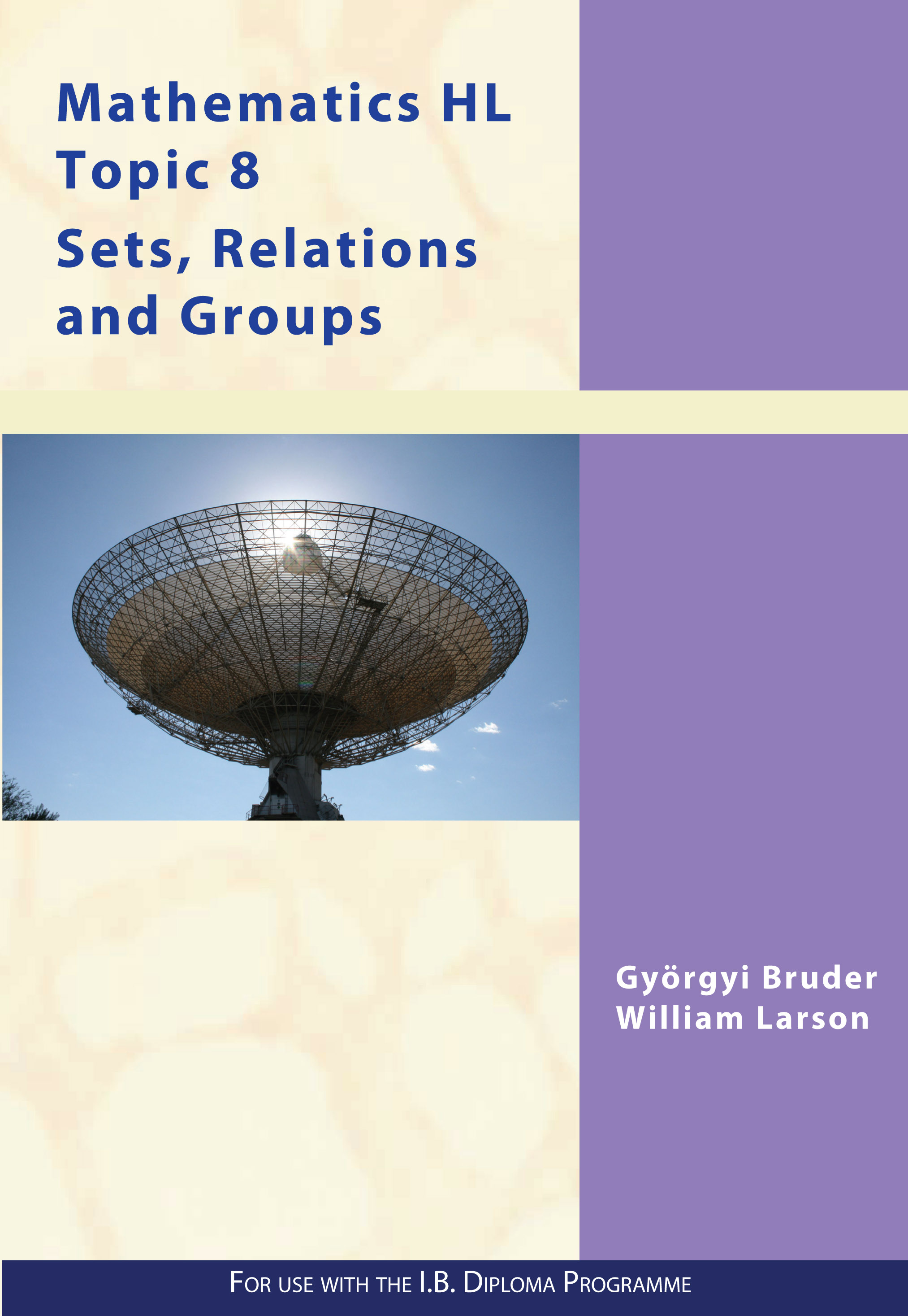 Math HL Option Sets , Relations & Groups